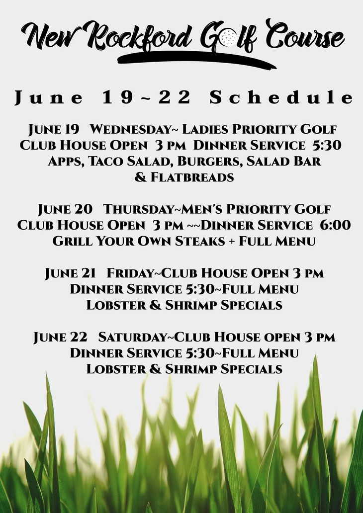 New Rockford Nd >> Golf New Rockford Golf Course And Event Center New Rockford
